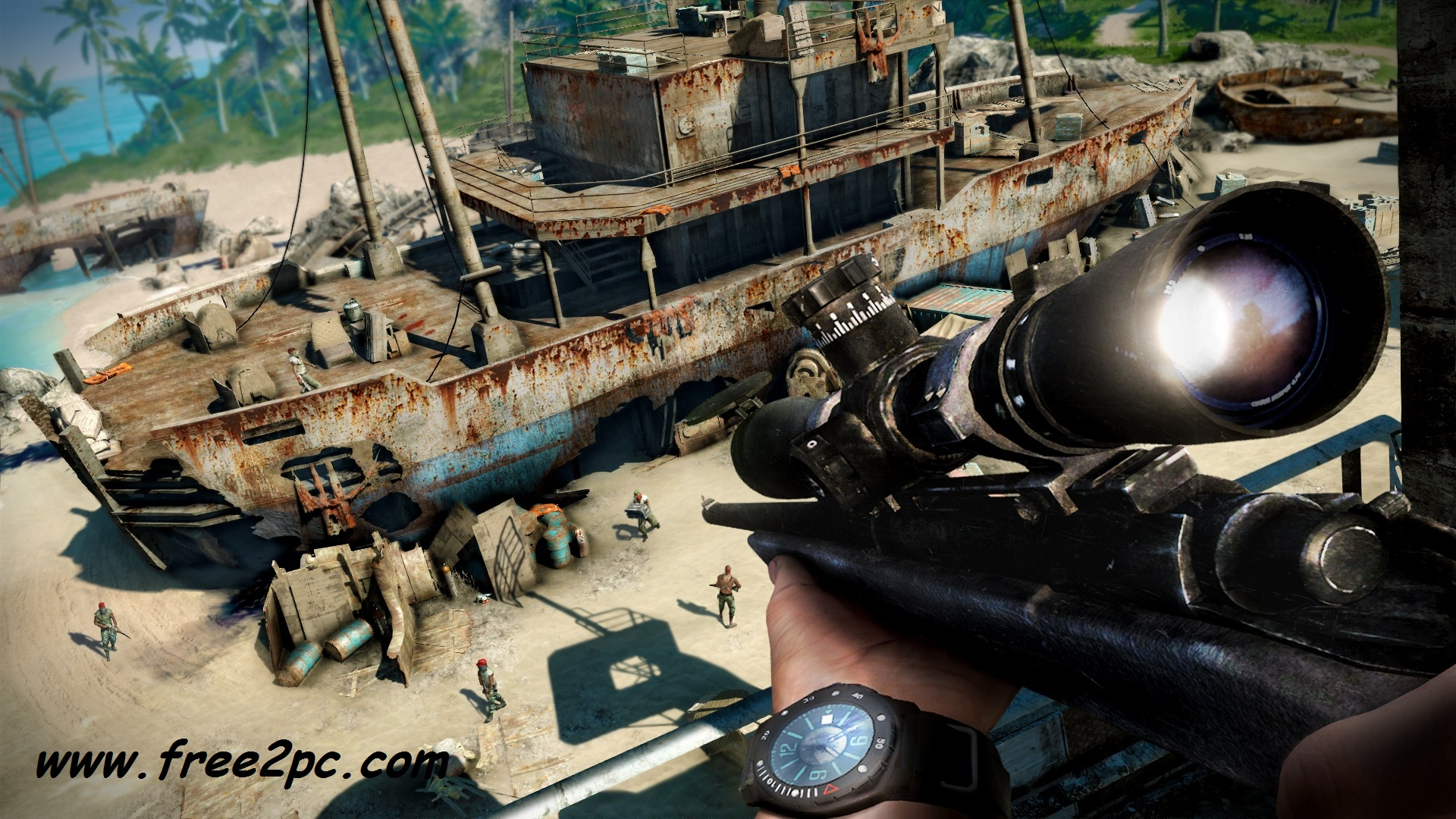 Far Cry 3 PC Game Free Download Full Version With Crack