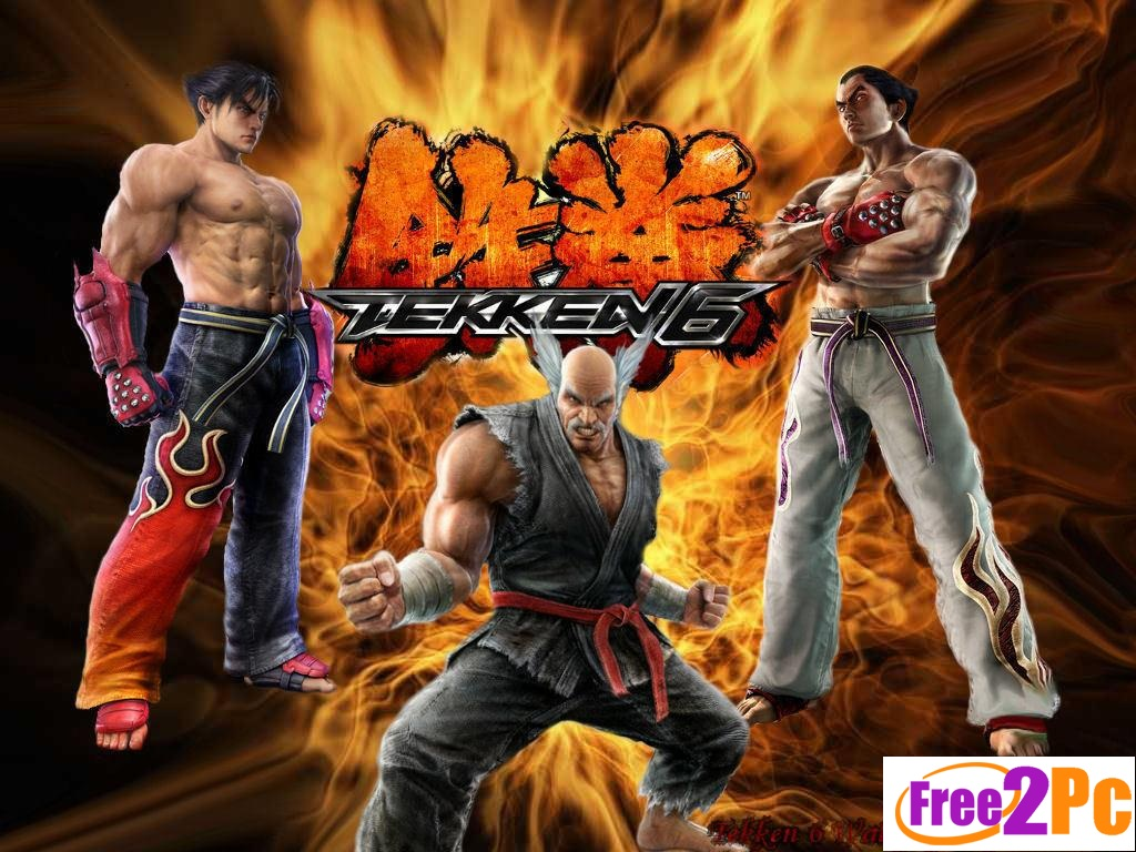Tekken 6 Game Screenshots