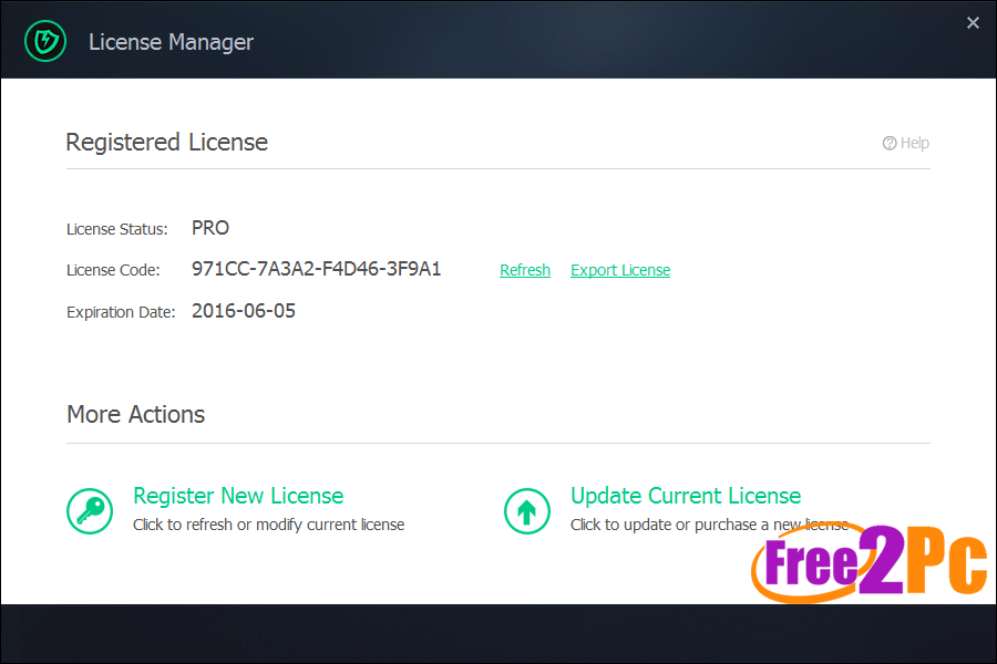 iobit license key