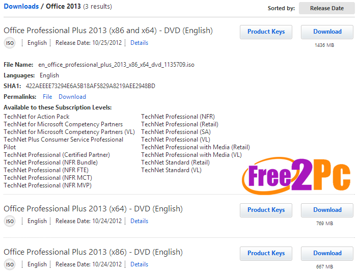 office-2013-msdn-technet-downloads-www-free2pc-com