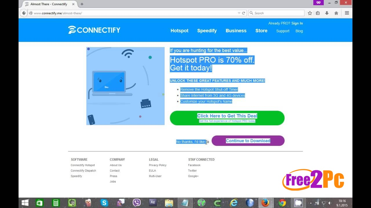 Network Connectify Hotspot Pro Free Download