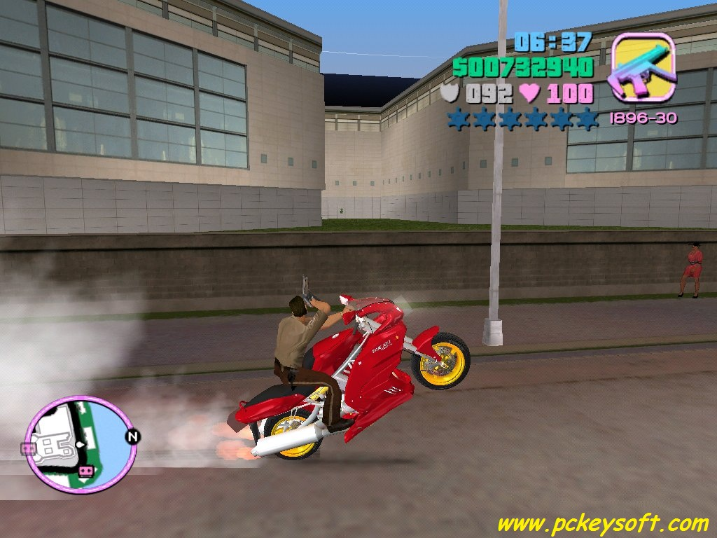 GTA Vice City Starman MOD PC Game - Free Download Full Version