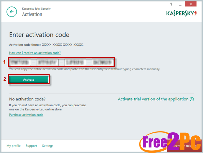 kaspersky total security 2017 activation code Archives