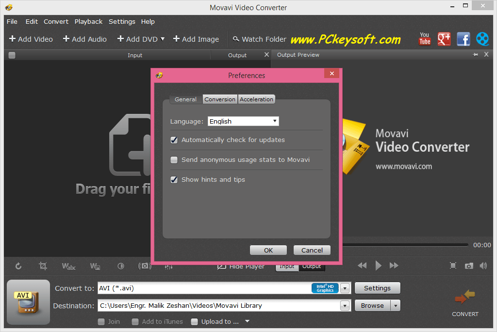 crack movavi video converter 12