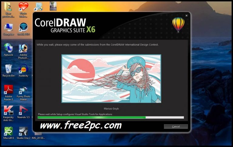 how to use keygen for corel draw x6