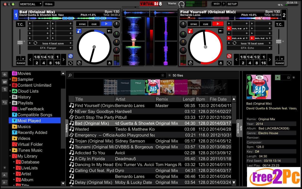 Virtual dj 8.2 free download