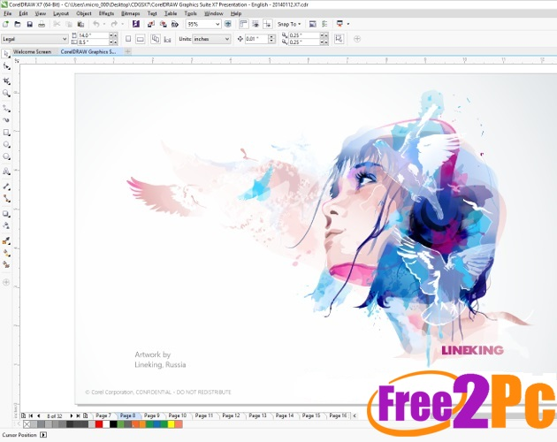 corel draw x6 software download