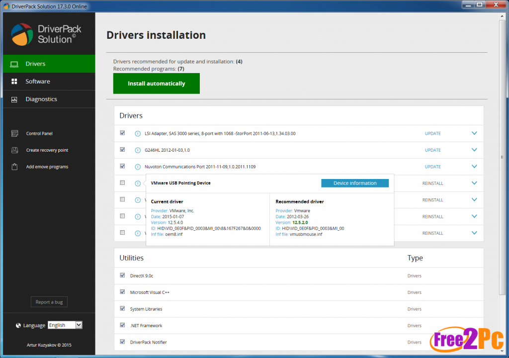 driverpack solution 14 full version free download