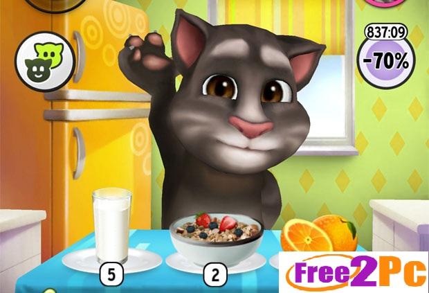 диета установить игру кота тома компьютерах время