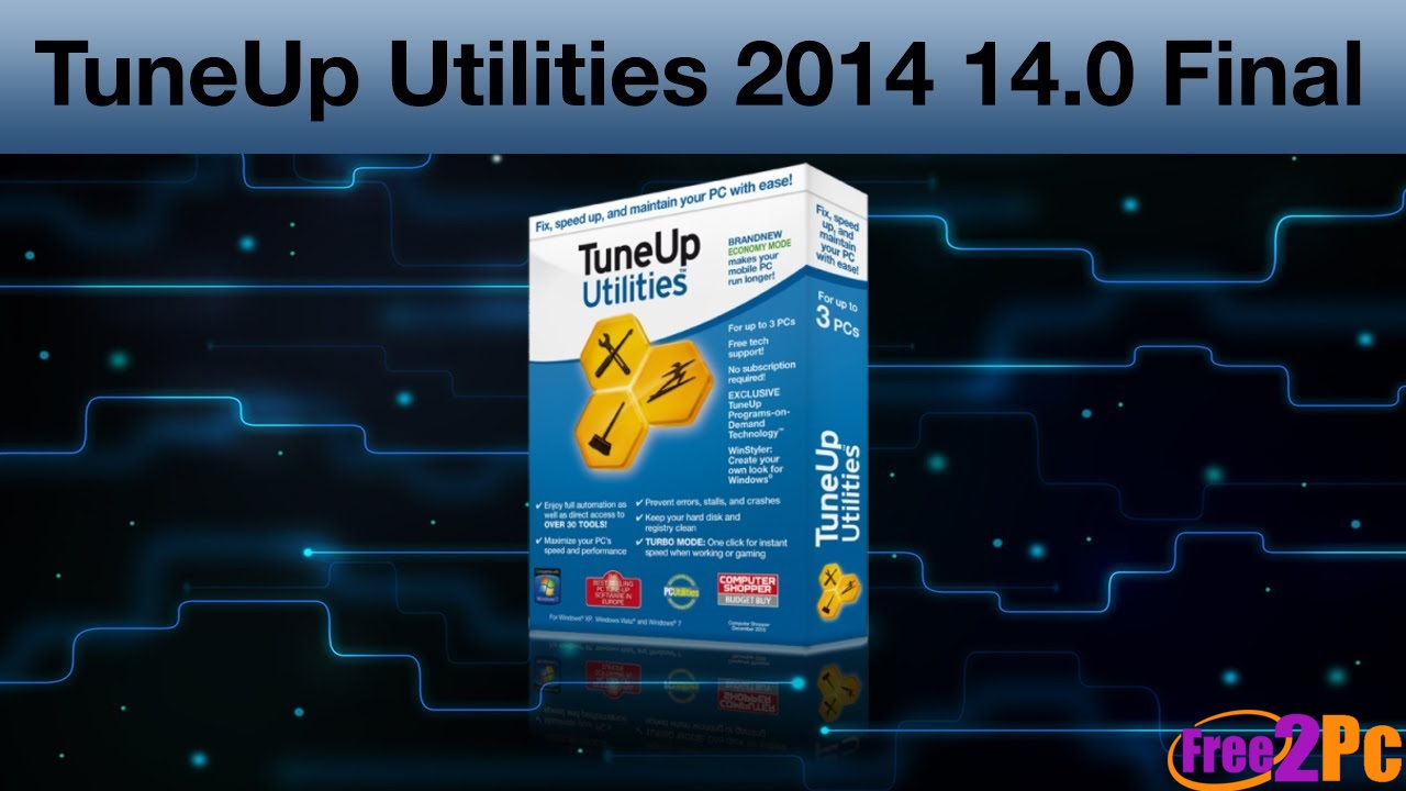 TuneUp Utilities 2014 Crack Keygen Final Full Version Download