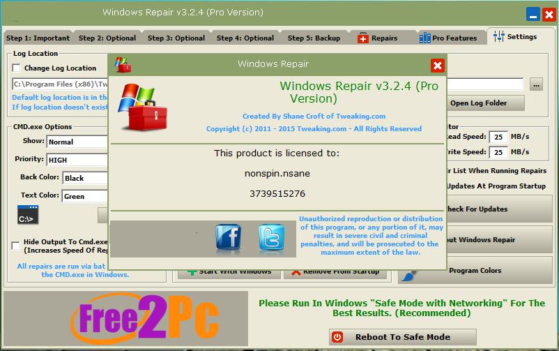 Windows Repair-crack-www-Free2pc-com