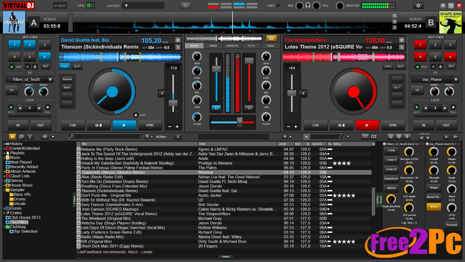 virtual dj version 8 free download