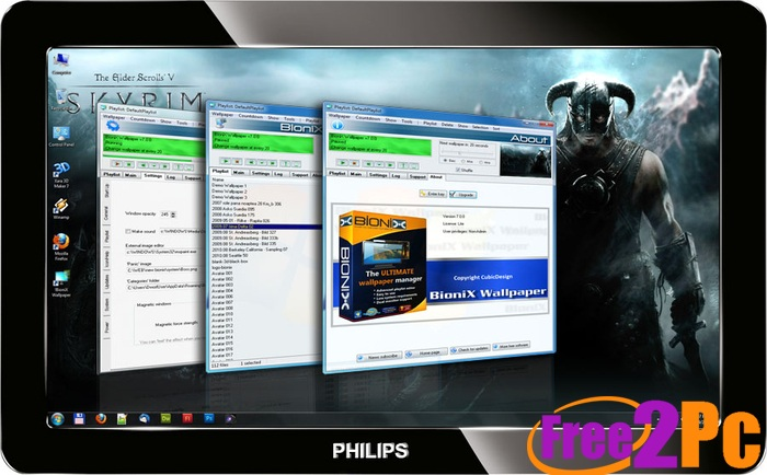 Windows 7 logon background changer free download www - Windows 7 wallpaper changer software ...
