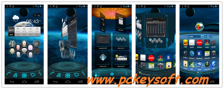 next launcher 3d shell pro apk free download