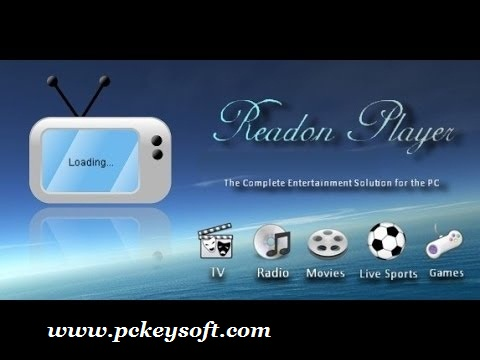 Readon TV Movie Radio Player Crack 7 With Product Key Download