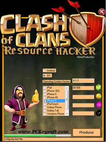clash of clans hack tool www pckeysoft com - Clash of Clans