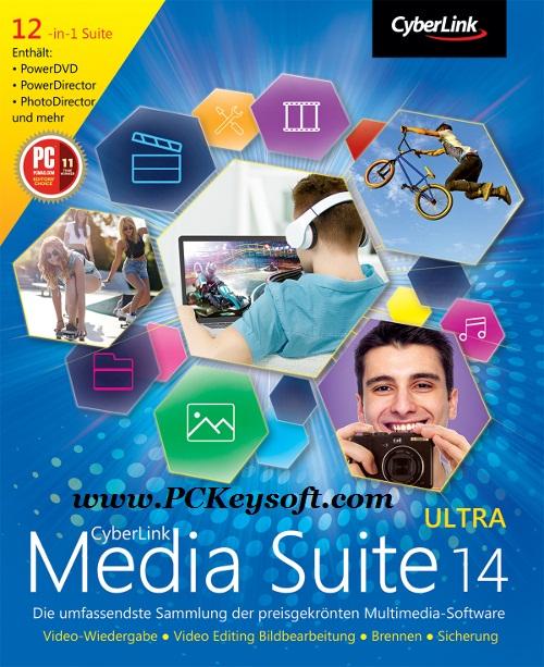 CyberLink Media Suite Ultra 14 Crack Plus Keygen Download Full Version