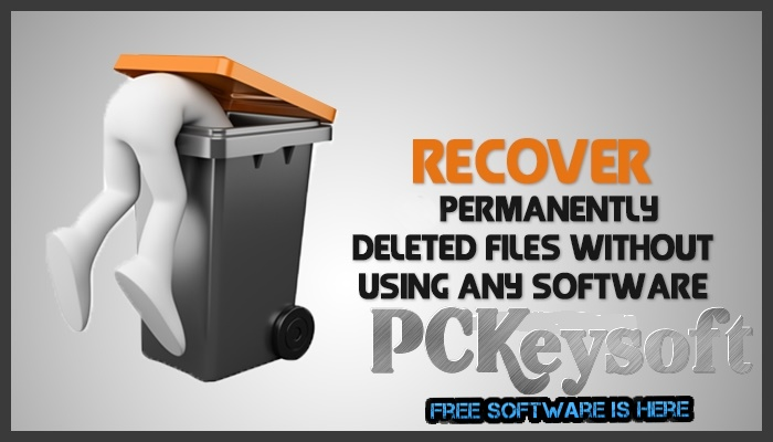 how to recover deleted files from computer using shift delete