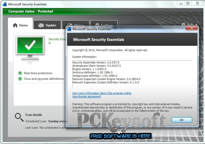 MicroSoft Security Essentials Download For All Windows
