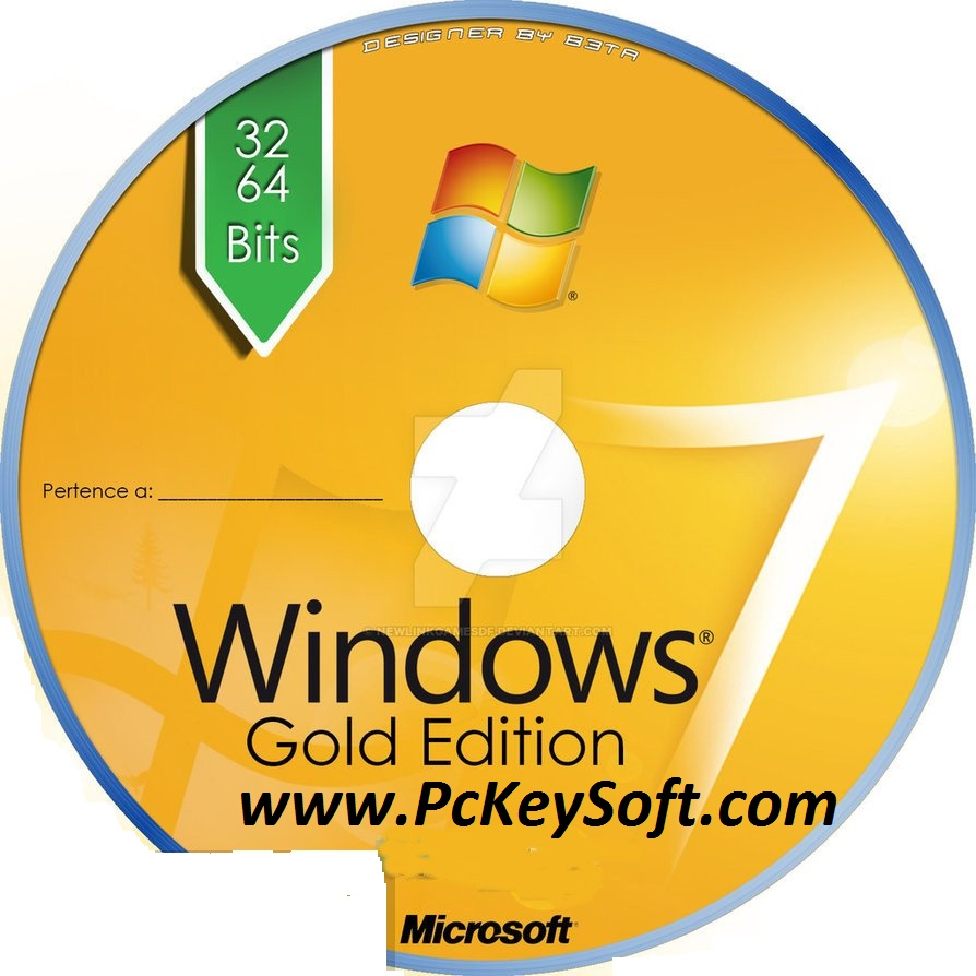 Windows 7 Gold Edition ISO Fully Activated Genuine X86 X64 Free Download