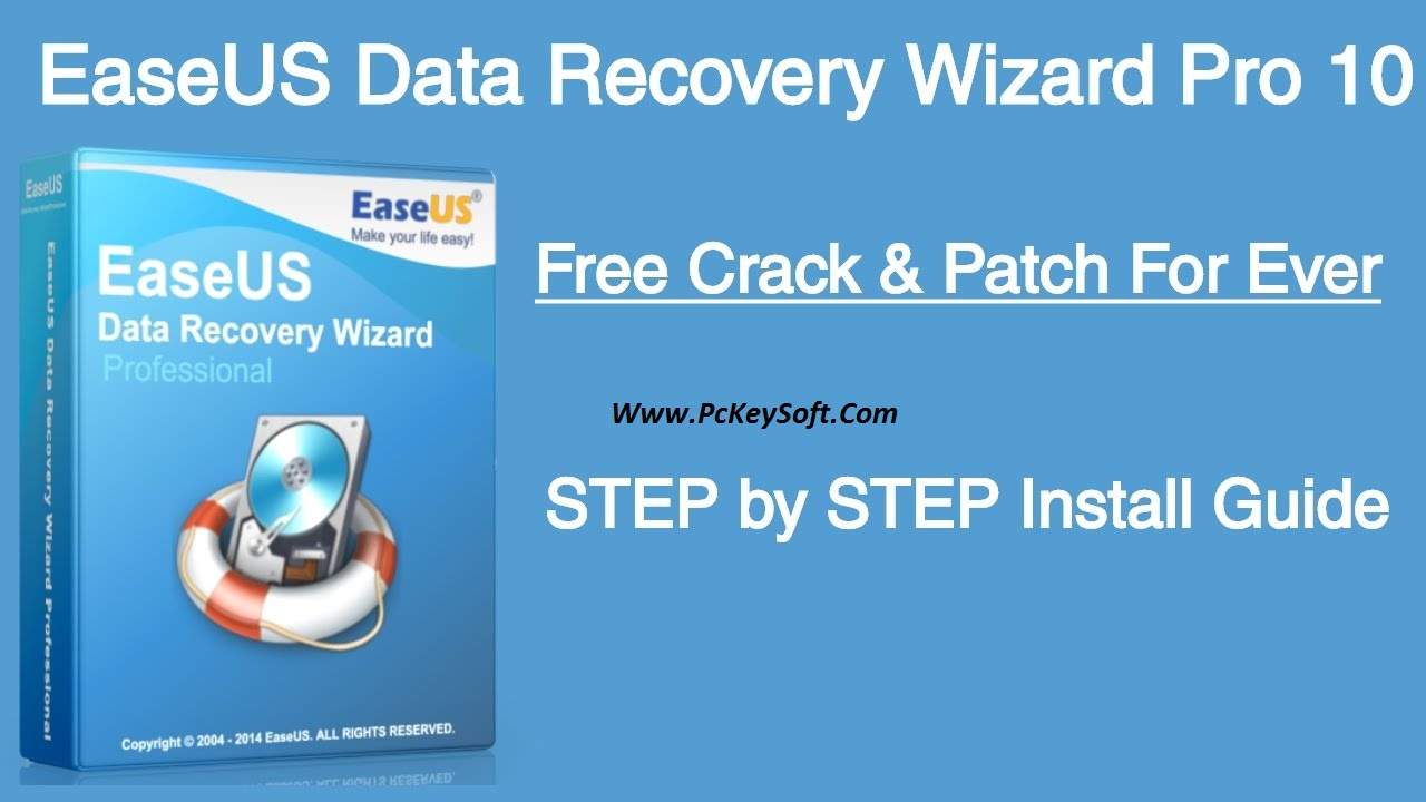 easeus data recovery wizard 11 crack keygen