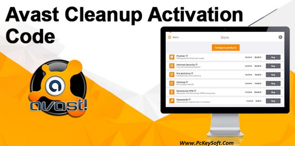 avast cleanup key 2017