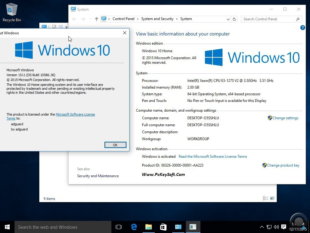 download-windows-10-one-iso-pre-activated-full-2017-Www-PcKeySoft-Com