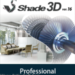 Shade 3D Professional Version 16 Crack Download Free 2017
