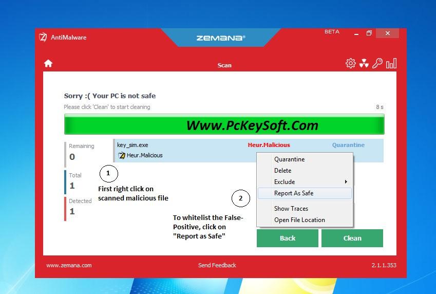 zemana antimalware premium key