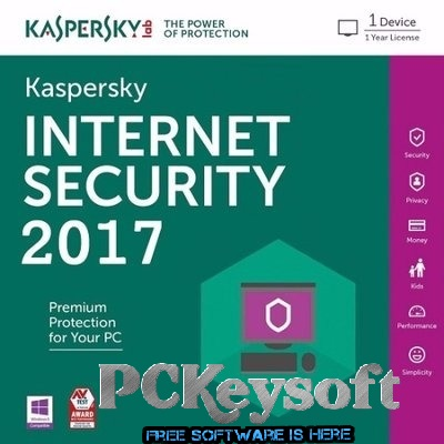 KasperSky Internet Security 2017 Key Free 1 Year Serial Number