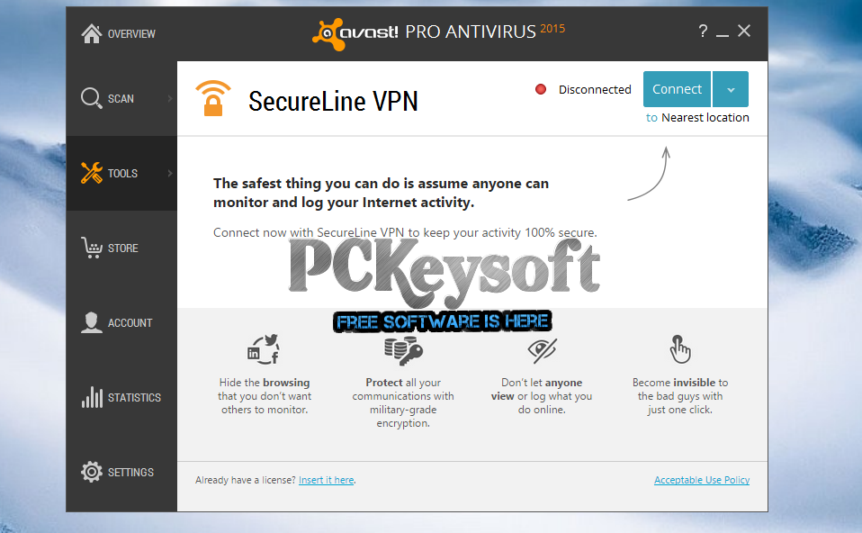 avast secure vpn license file free download