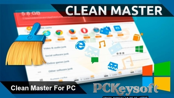 Clean Master For PC Latest Crack Version Download 2017