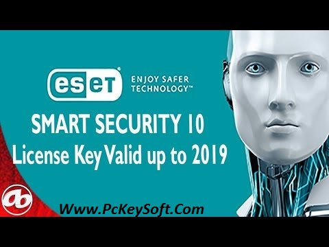license key eset smart security 11 2018
