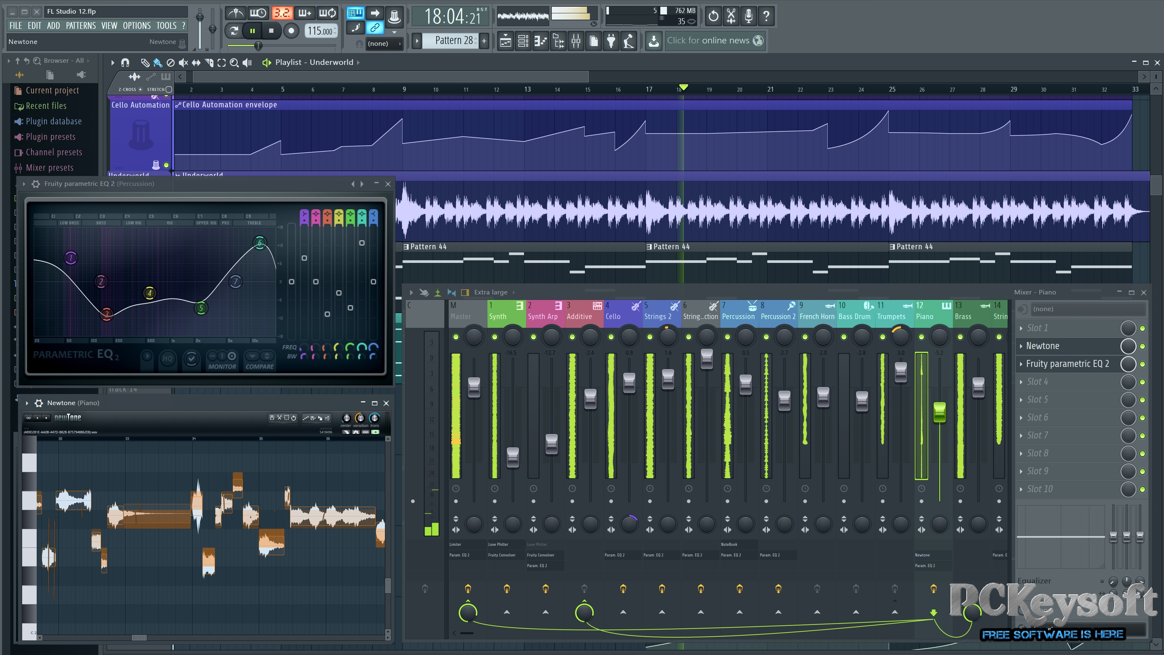 fl studio 12.5  full version crack pc