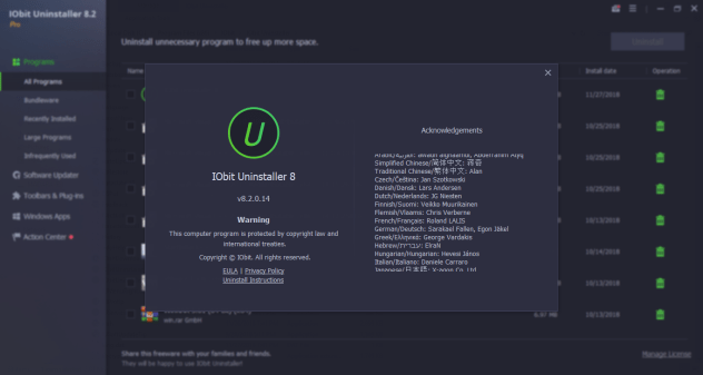 IObit Uninstaller Pro 8.4 Crack
